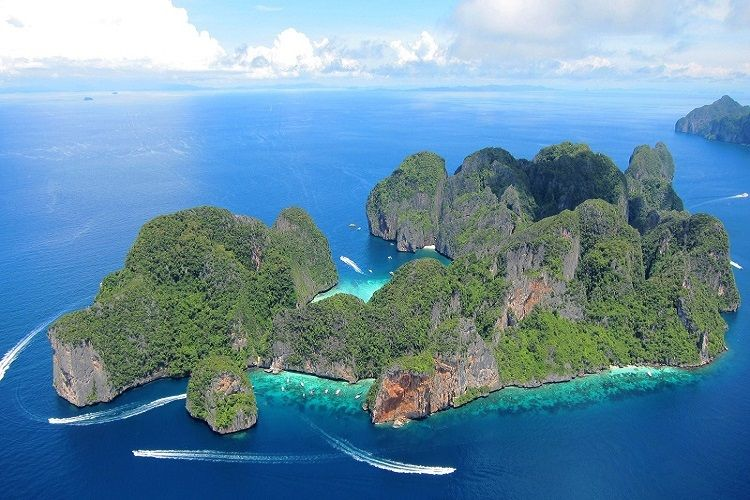 krabi dive sites phi phi